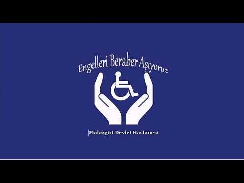 Malazgirt Devlet Hastanesi 3 Aralık Engelli günü videosu