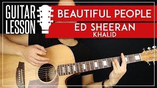 Beautiful People Guitar Tutorial 🎸 Ed Sheeran Guitar Lesson |Easy Chords|