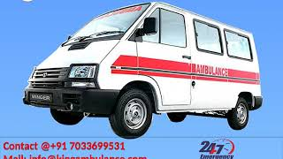 Hire Best Road Ambulance Service in Gaya and Ramgarh by King