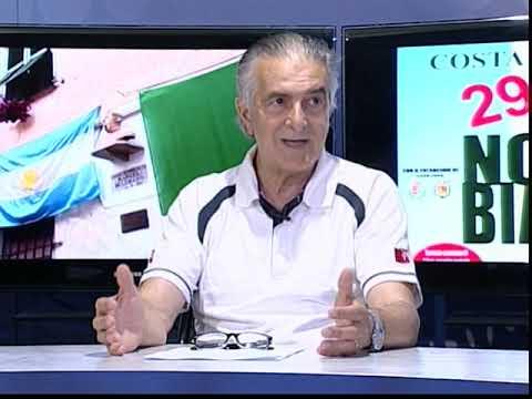 MICROFONO APERTO : PRESENTAZIONE FESTA BANDIERA ARGENTINA E NOTTE BIANCA A COSTA D' ONEGLIA