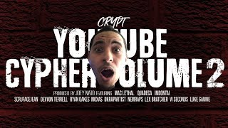 Crypt - YouTube Cypher Vol. 2 ft. Mac Lethal, Quadeca, ImDontai, VI Seconds & MORE [REACTION]