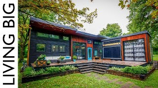 Musicians Incredible Modern Tiny House & Mobile Music Studio