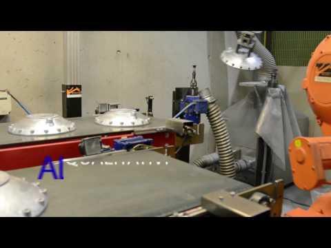 Sbavatura manuale e robotizzata