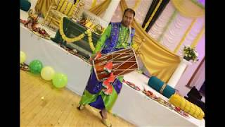 Dhol at a Mehndi Event