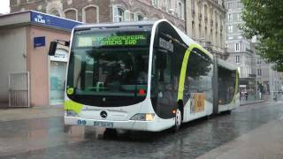 preview picture of video 'AMIENS BUSES OCTOBER 2010'