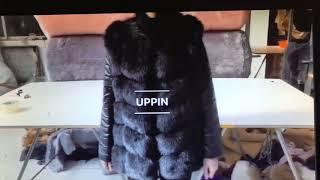 Качественная женская куртка с лисьего меха. от компании Интернет-магазин-Модной дешевой одежды. - видео