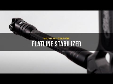 Mathews Flatline Stabilizer Sitka Sub Alpine 10 In.