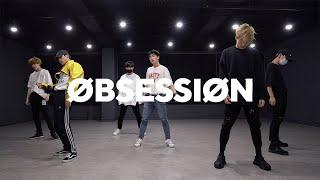 엑소 EXO - OBSESSION (Boys ver.)   커버댄스 DANCE COVER    안무거울모드 MIRRORED   연습실 PRACTICE ver.