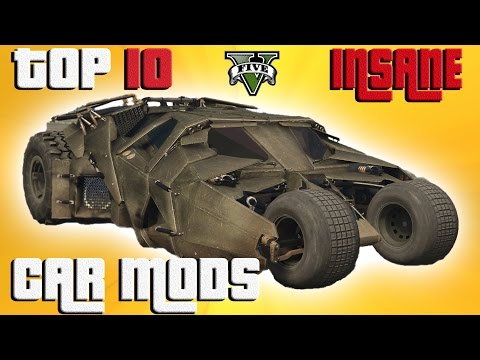 GTA 5 Top 10 INSANE Vehicle Mods