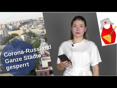 Corona-Russland: Ganze Städte gesperrt [Video]