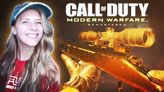 THIS CALL OF DUTY IS FREE! LET'S SNIPE! (Modern Warfare Remastered)
