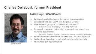 UXPA@Pratt, the First Student Chapter of UXPA International