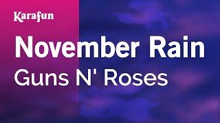 Karaoke November Rain - Guns N' Roses *
