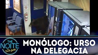 Monólogo: Urso na delegacia | The Noite (05/12/18)