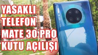 Huawei'nin Yasaklı İlk Telefonu: Mate 30 Pro Kutu Açılışı (Çince Öğreniyoruz!)