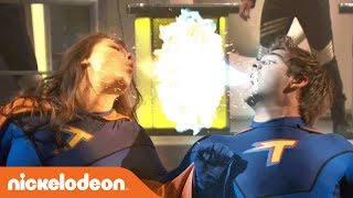 Max Vs. Phoebe: The Epic Battle For The Z-force 💥   The Thundermans   Nick