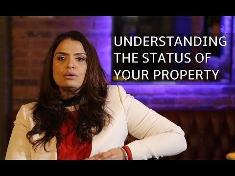 Property management lawyer on understanding the status of your property in India