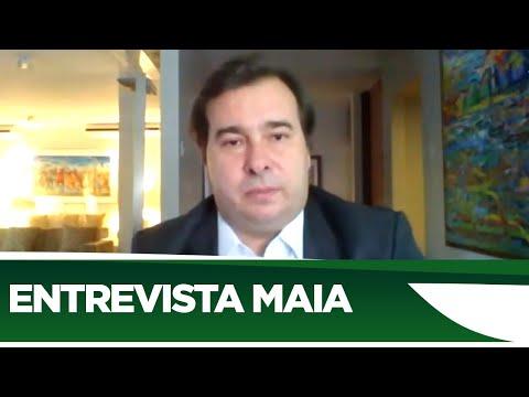 Maia comenta ataques à democracia e reforma tributária - 22/06/20
