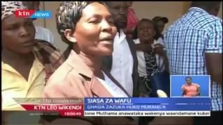 KTN Leo Wikendi: Familia mbili watofautiana katika hifadhi ya maiti ya general Kago kaunti ya Murang