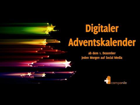 Digitaler Adventskalender: Vorstellung und Werbung