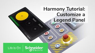 Customize a Legend Panel with Harmony Customization Tool