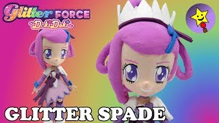 CUSTOM Glitter Force Doki Doki Glitter Spade DokiDoki PreCure Doll DIY Tutorial