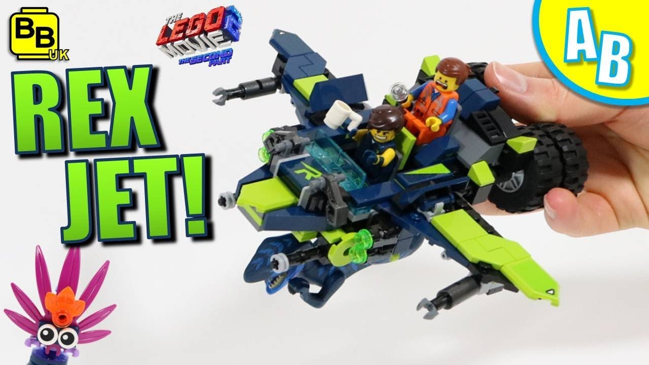 LEGO REX-JET 70826 ALTERNATIVE BUILD