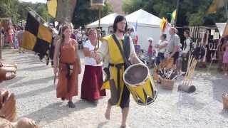 preview picture of video 'Festzug Ritterfest Amerang 2013'