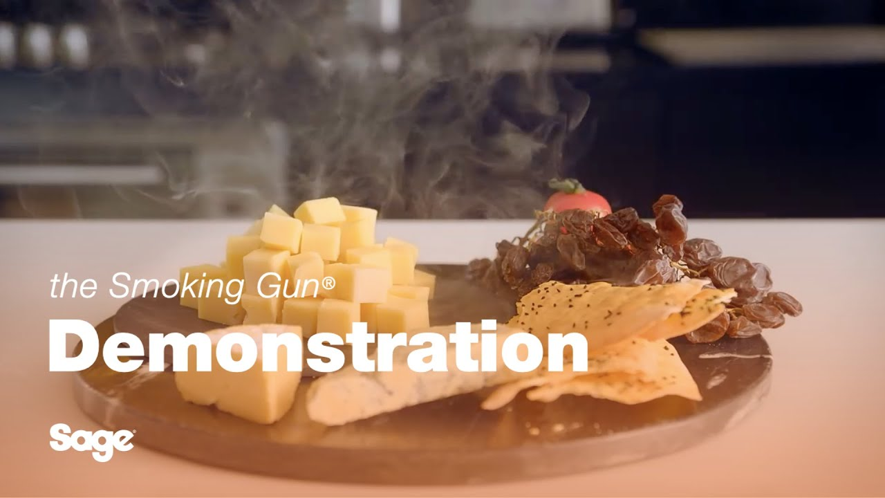 Sage - the Smoking Gun - Smoked Cheese