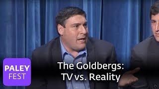 The Goldbergs - Adam F. Goldberg on How His Real Family Compares to the TV Version