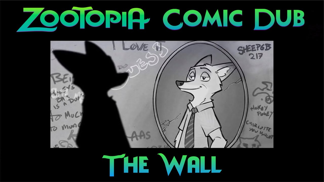 Zootopia Comic Dub: The Wall (by Bmanlegoboy and MisterMead)