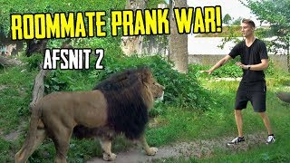 LØVE PRANK GÅR GALT // Ultimativ roommate prankwar - Afsnit 2