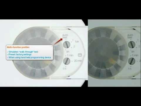 Hager Indoor Presence Detectors