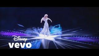 "IDINA MENZEL ""Show Yourself"" TRUE ULTRA HD LYRIC FROZEN 2 VIDEO ELSA MEETS HER MOTHER  EVAN WOOD"