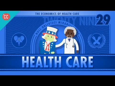 , title : 'The Economics of Healthcare: Crash Course Econ #29
