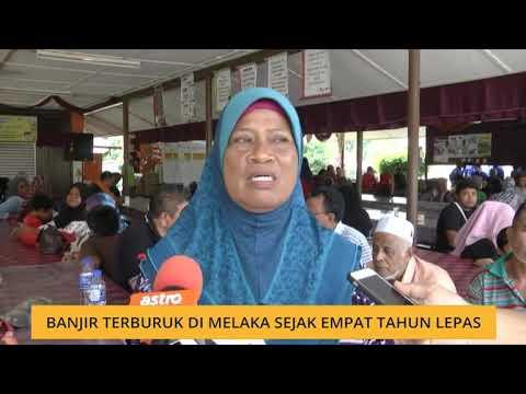 Banjir terburuk di Melaka sejak empat tahun lepas