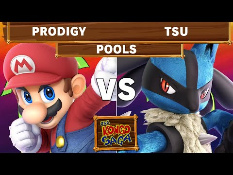 2GG Kongo Saga - Armada | Prodigy (Mario) VS Tsu (Lucario) Pools - Smash Ultimate