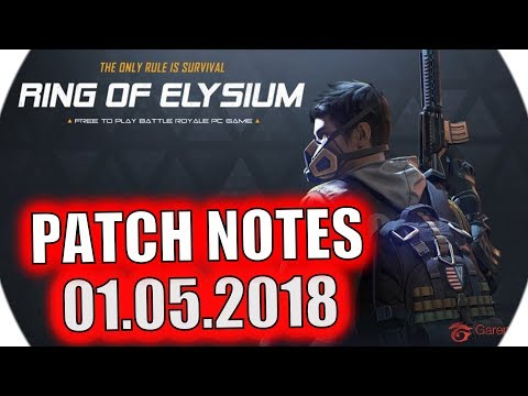 Ring of Elysium - PATCH NOTES - [01.05.2018] [RoE] [ENG & DE]