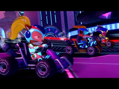 Crash Team Racing Nitro-Fueled – Electron Skins Trailer thumbnail