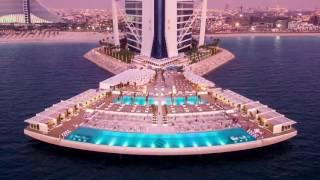 Burj Al Arab 7 Stars Hotel Dubai 2017 (Отель визитная карточка Дубая)