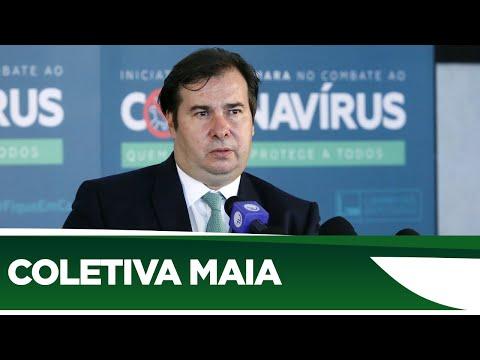 Maia comenta a saída do ministro da Educação - 18/06/20