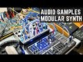 Audio Samples with Modular Synth & Ring Modulator - Experimental Performance