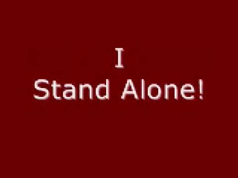 Godsmack- I Stand Alone with Lyrics