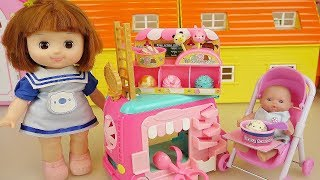 Baby Doll Ice Cream Car Toys Play