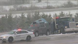 Sisters killed in snowy I-41 crash in Washington County