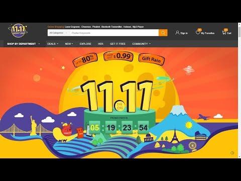 LIVE DOS CUPONS E DESCONTOS! 11/11 BLACK FRIDAY CHINESA!