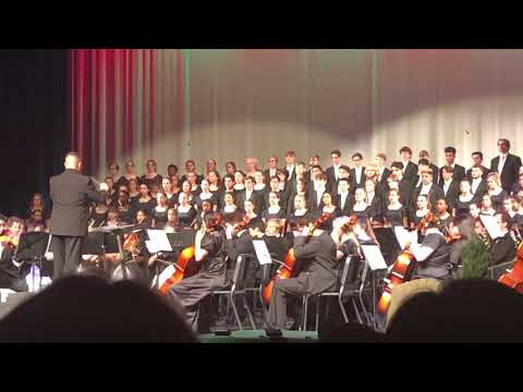 2019 Pope HS Choir, Band and Orchestra, Hallelujah Chorus