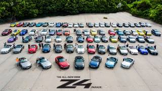 BMW Car Club Owners Zone Hong Kong COTM: BMW Hong Kong Z4 Parade