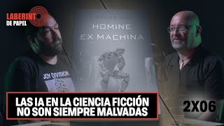 CARLOS SISÍ: Destripamos con el autor los secretos de su éxito y de su libro 'Homine Ex Machina'