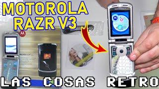 MOTOROLA RAZR V3 🔴 INTERNET móvil de 2006 PRUEBAS de CÁMARA